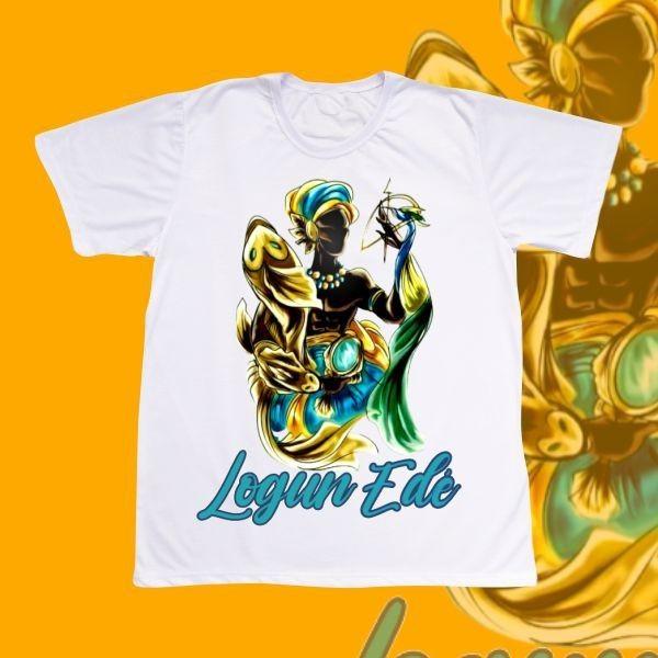 Camiseta Logun Edé colorido