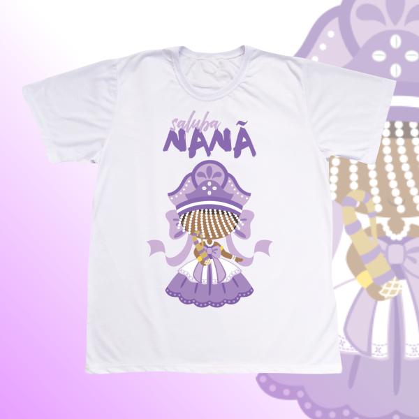 Camiseta Adulto -  Nanã com franja