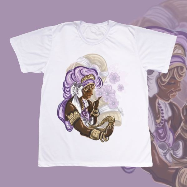 Camiseta Adulto -  Nanã com Ibiri