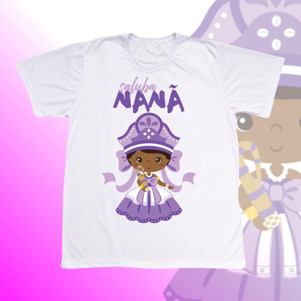 Camiseta Adulto -  Nanã sem franja
