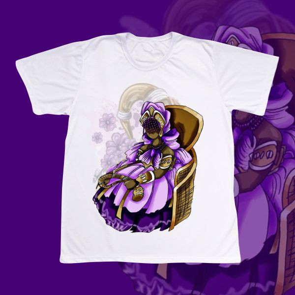 Camiseta Adulto -  Nanã sentada
