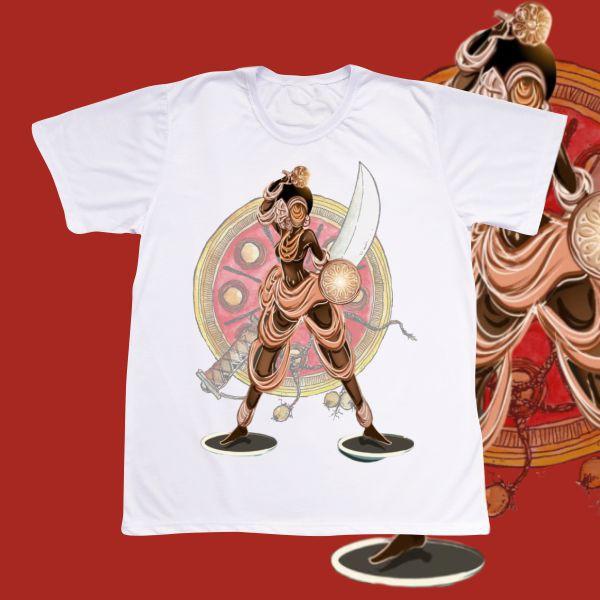 Camiseta Adulto -  Obá guerreira