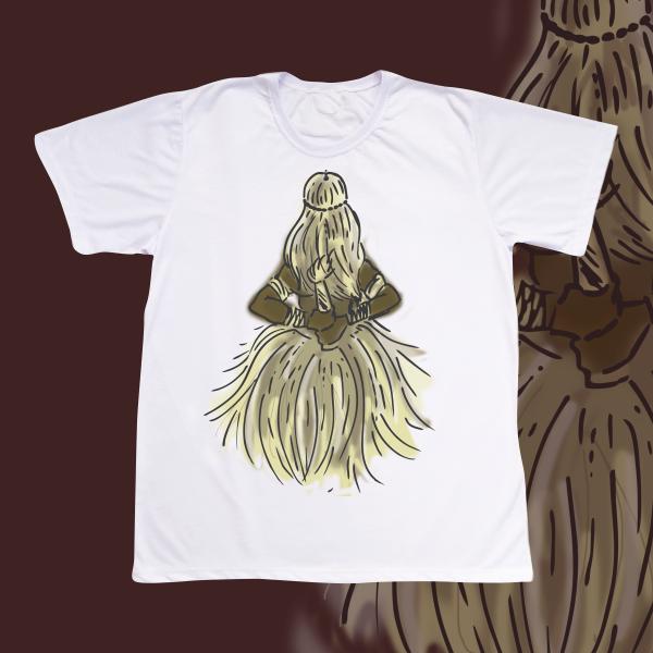Camiseta Adulto -  Obaluaiê colorido