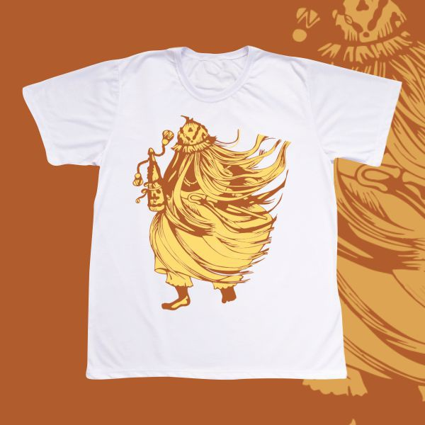 Camiseta Adulto -  Obaluaiê &; Omolu desenho