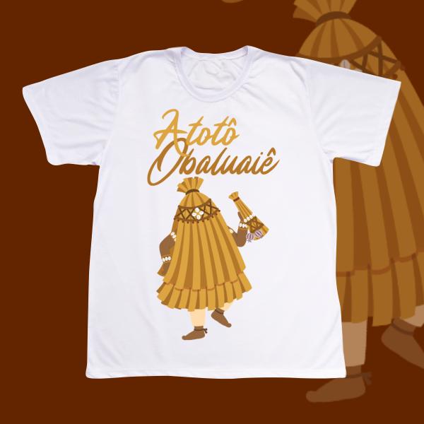 Camiseta Obaluaiê sem cenário
