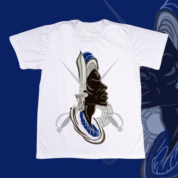 Camiseta Ogum Vetor e espada