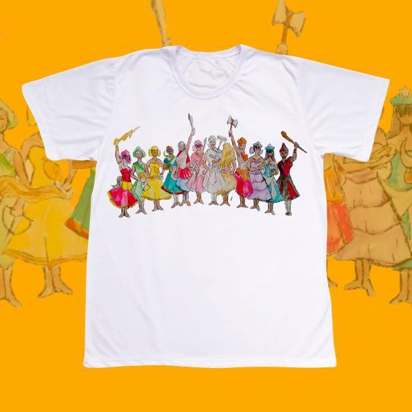 Camiseta com os Orixás
