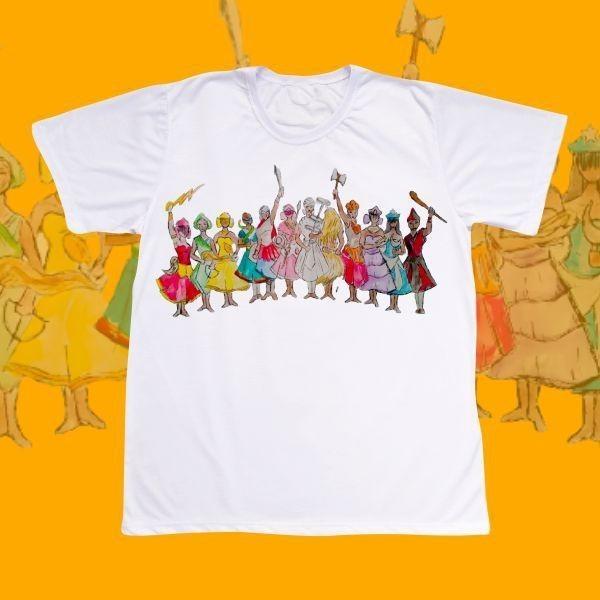 Camiseta Adulto -  com os Orixás