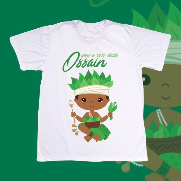 Camiseta Adulto -  Ossain baby sem cenário