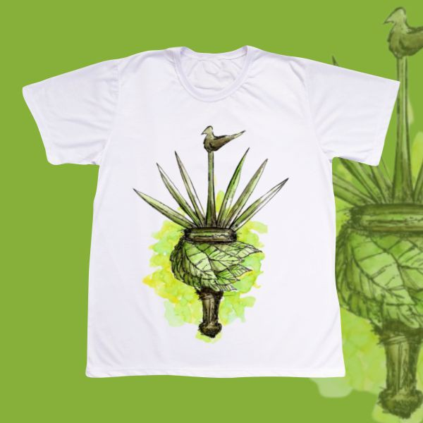 Camiseta Adulto -  Ossain ferramenta