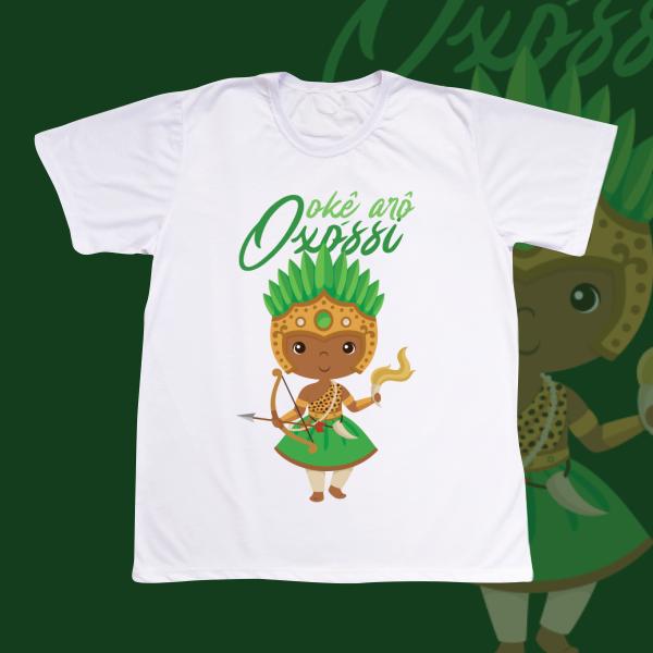 Camiseta Adulto -  Oxossi sem franja
