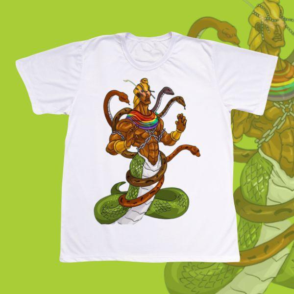 Camiseta Adulto -  Oxumare Cobra
