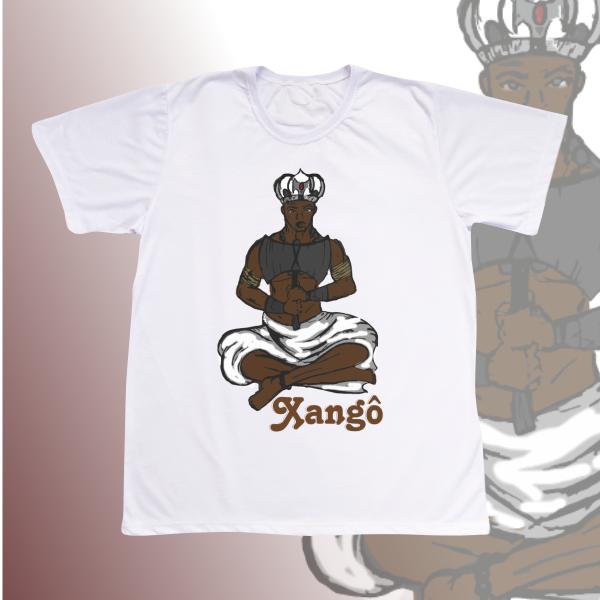 Camiseta Xangô desenho