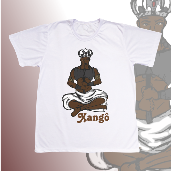 Camiseta Adulto -  Xangô desenho