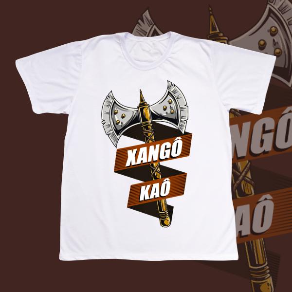 Camiseta Adulto -  Xangô ferramenta e kaô