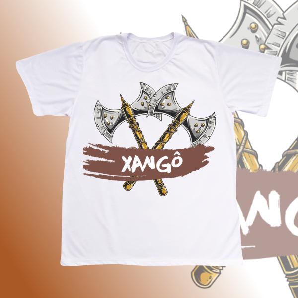 Camiseta Xangô machado cruzado