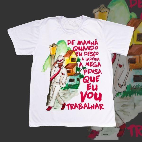 Camiseta Adulto -  Zé Pelintra com ponto