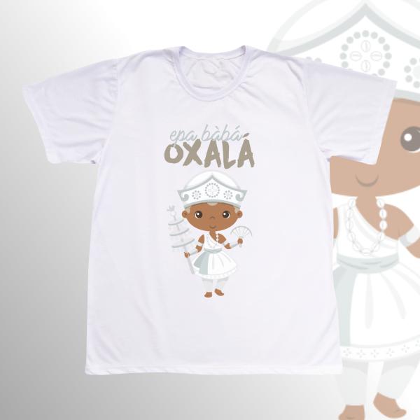 Camiseta Adulto -  Oxalá Baby sem franja