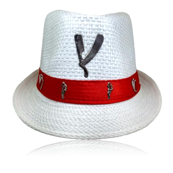Chapéu Panamá de Malandro com Navalha