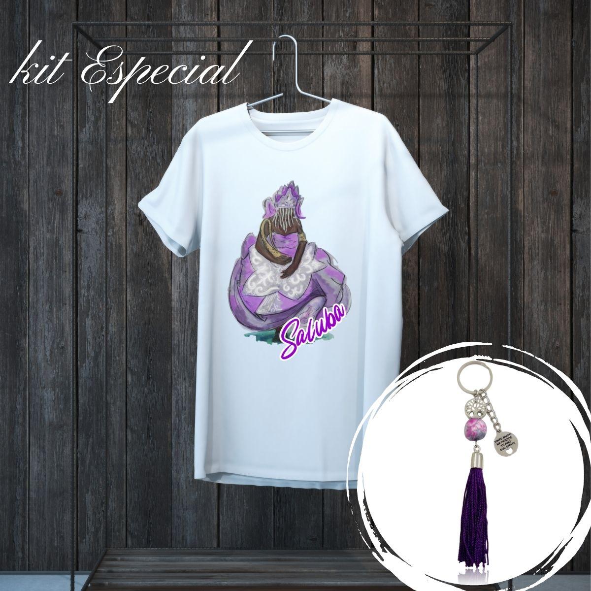Kit de Nanã - Chaveiro e Camiseta