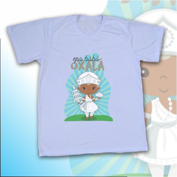 Camiseta Adulto -  Oxalá Baby