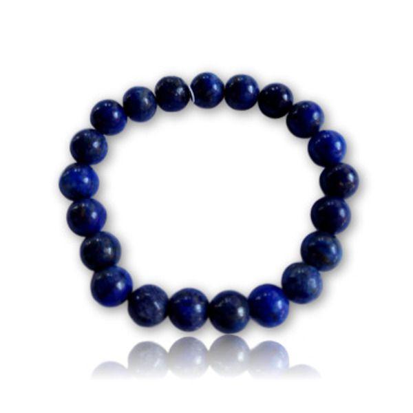 Pulseira de Pedra Lapis Lazuli