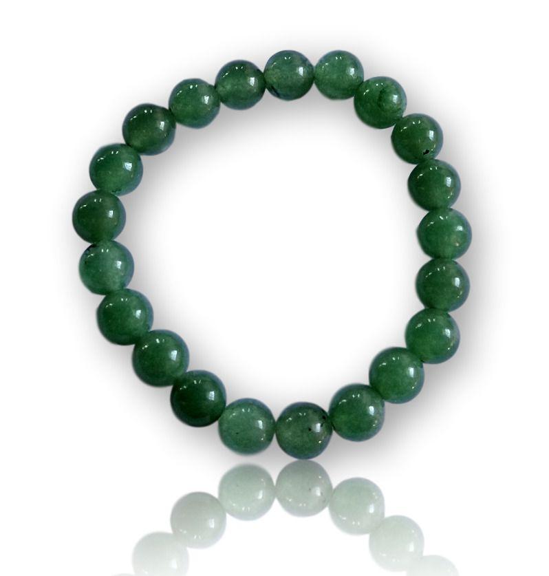 Pulseira de Pedra Quartzo verde