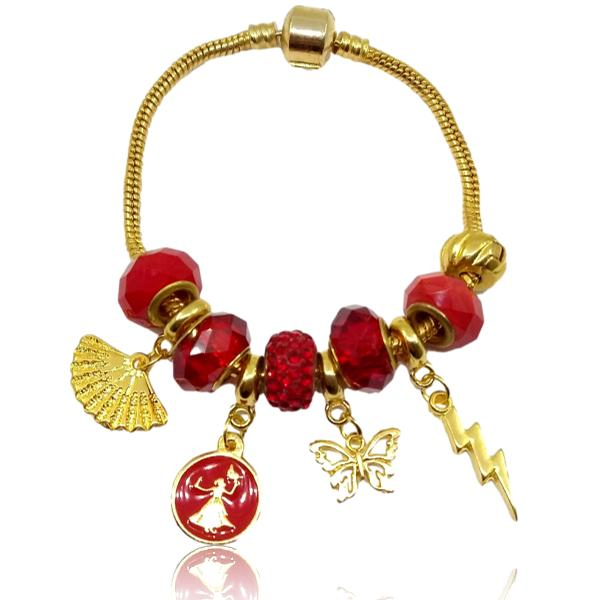 Pulseira dourada de Iansa