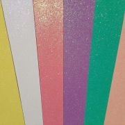 Combo de Eva Glitter Candy  - 06 Folhas