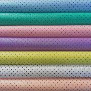 Combo de Eva Glitter Candy Estampado Bolinhas Pequenas