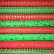 Combo de Eva Natal Metalizado