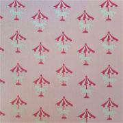 Folha de Eva Com Tecido Carrossel Rosa 40x30 cm