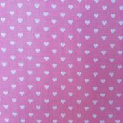 Folha de Eva Com Tecido Corações Rosa