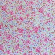 Folha de Eva Com Tecido Floral Rosa 40x30 cm