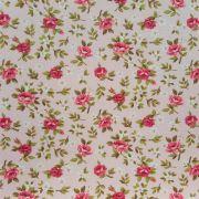 Folha de Eva Com Tecido Floral Rosa Premium 40x30 cm