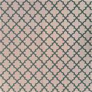 Folha de Eva Com Tecido Molduras Rosa Bebê e Cinza 40x30 cm
