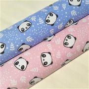 Folha de Eva Com Tecido Pandas 40x30 cm