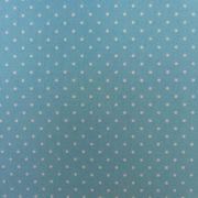 Folha de Eva Com Tecido Poá Azul com Branco