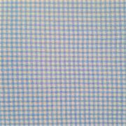 Folha de Eva Com Tecido Xadrez Mini Azul Claro