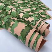 Folha de Eva Estampado Camuflado Exército