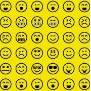 Folha de Eva Estampado Emojis