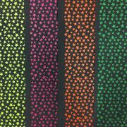 Folha de Eva Estampado Estrelas Neon