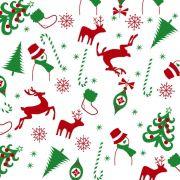 Folha de Eva Estampado Natal