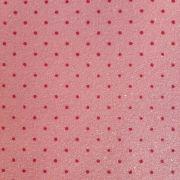 Folha de Eva Glitter Candy Estampado Bolinhas Pequenas