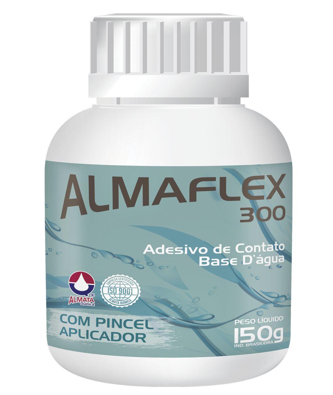 Cola ALMAFLEX 300 Adesivo de Contato 150 gramas