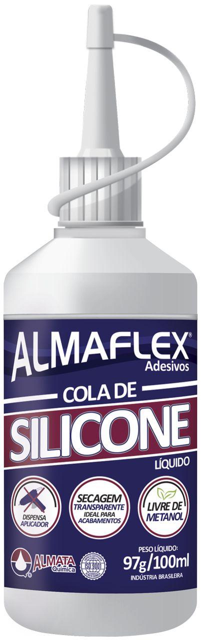 Cola Almaflex Cola de Silicone 806 100 ml