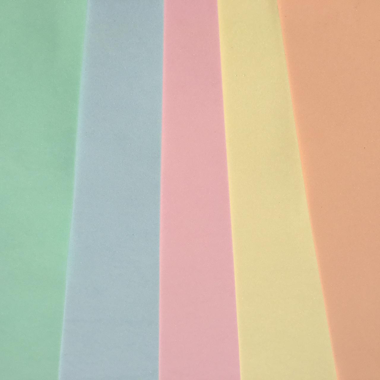 Combo de Eva Candy Liso  - 05 Folhas - Make +