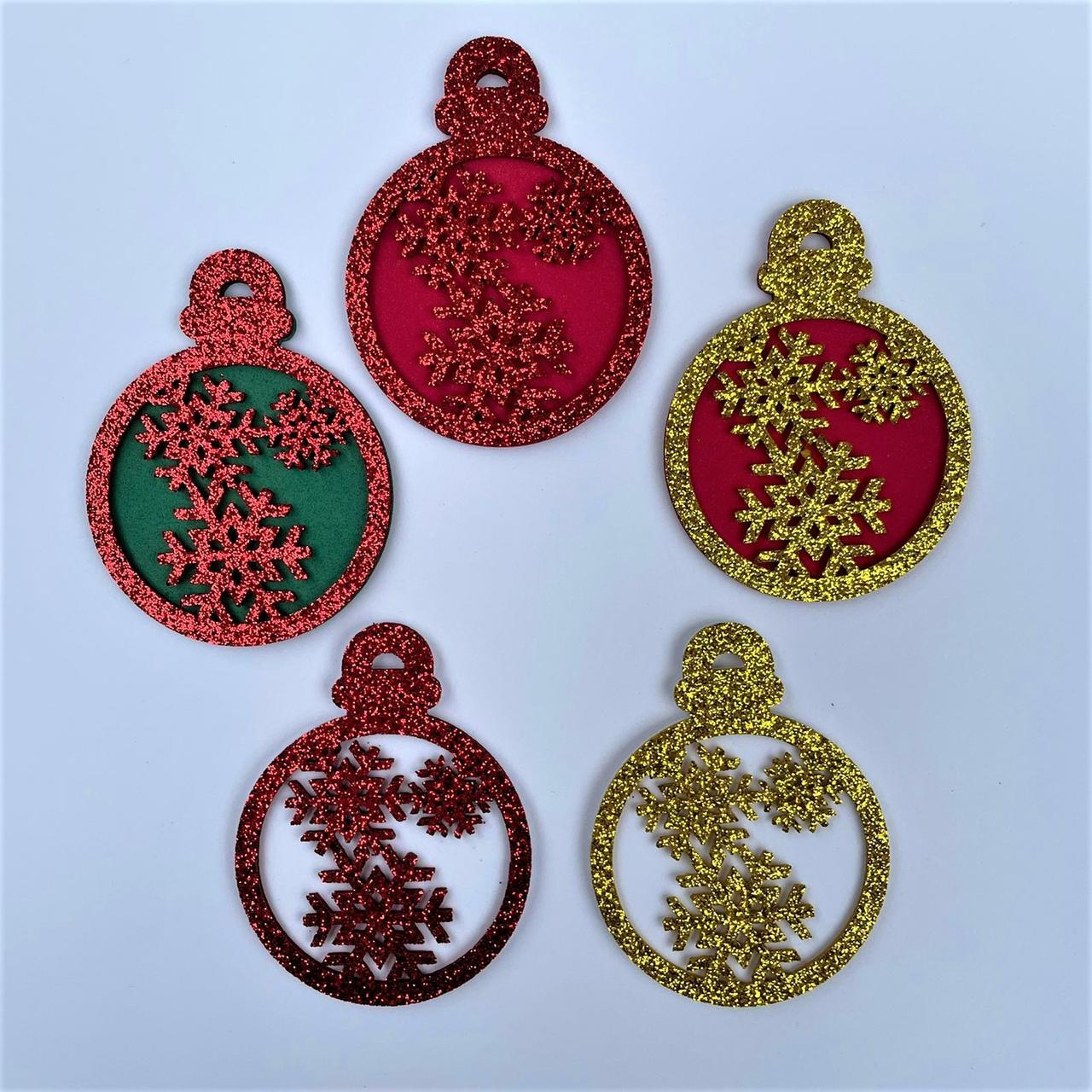Enfeite em EVA para Árvore de Natal