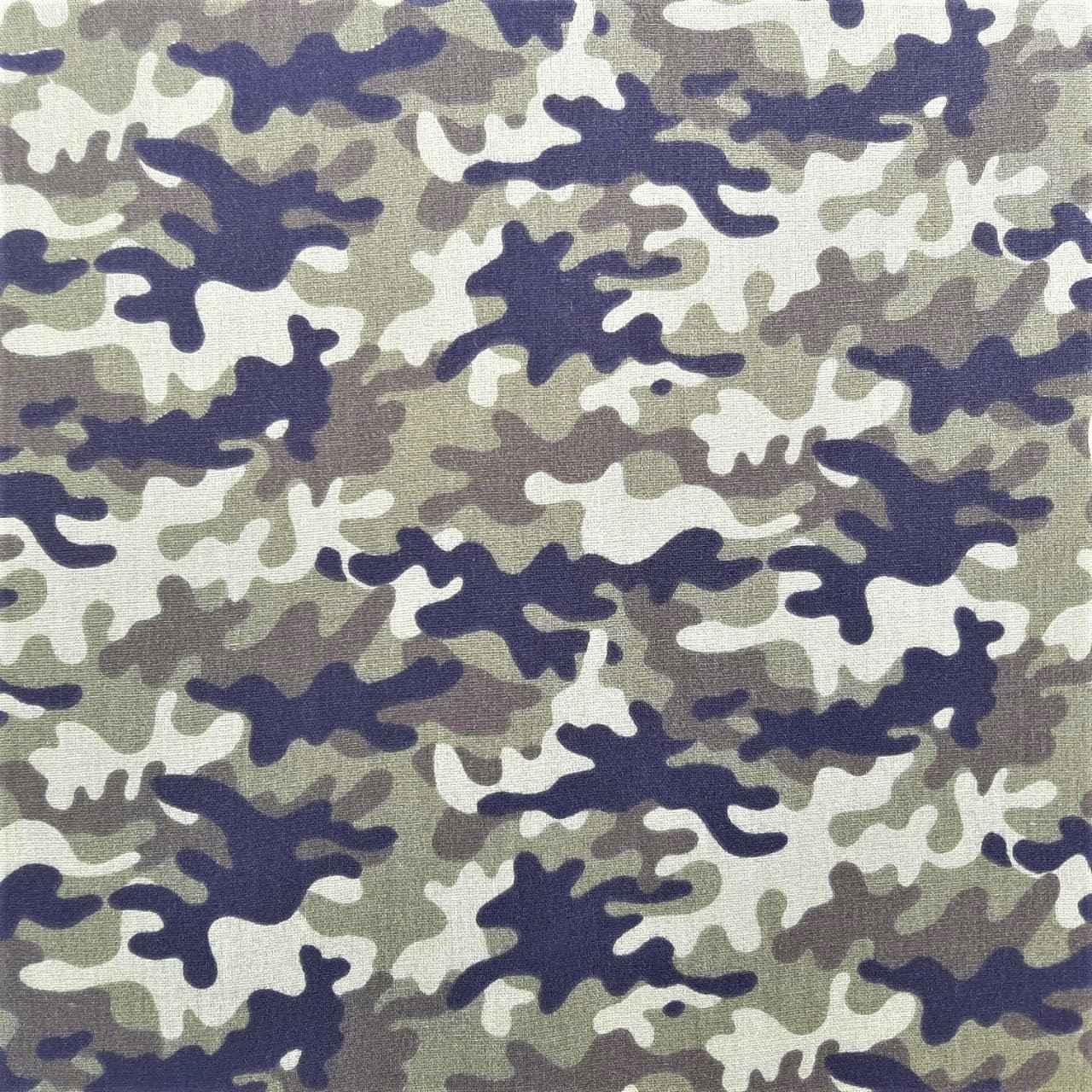 Folha de Eva Com Tecido Camuflado Exército 40x30 cm