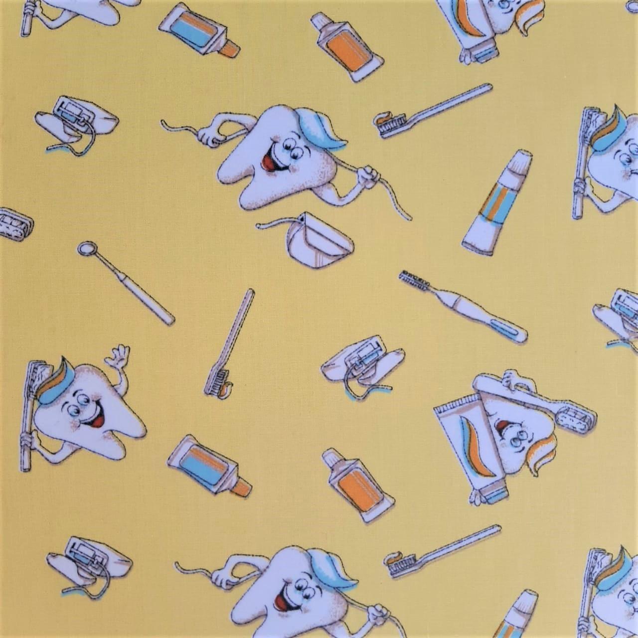 Folha de Eva Com Tecido Dentinhos 40x30 cm